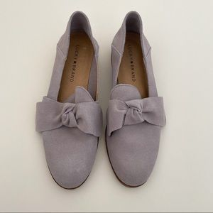 NWOT Lucky Brand Suede Loafer